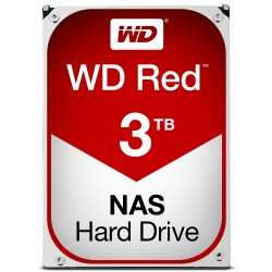 Red NAS HDD 3TB 64MB