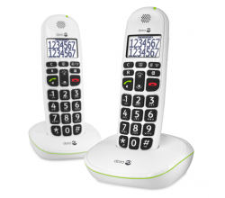 PhoneEasy 110 Duo Wit Doro