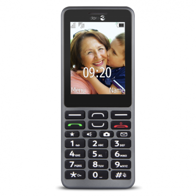 PhoneEasy 509 Steel Doro