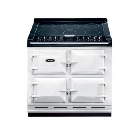 Six-Four 100 Vitrokeramisch White  AGA