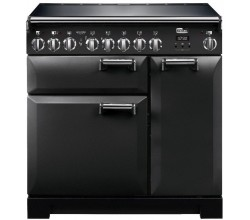 Leckford Deluxe 90 Induction Charcoal Black Falcon