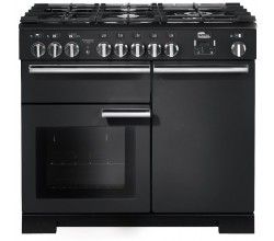 Professional Deluxe 100 Dual Fuel Charcoal Black Falcon