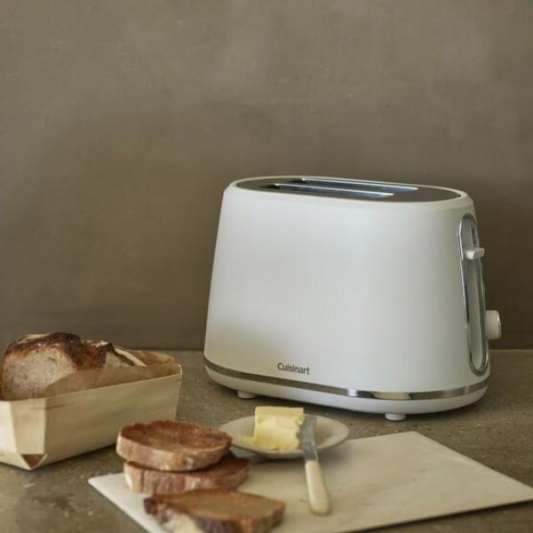 2 Slice Toaster Wit Cuisinart
