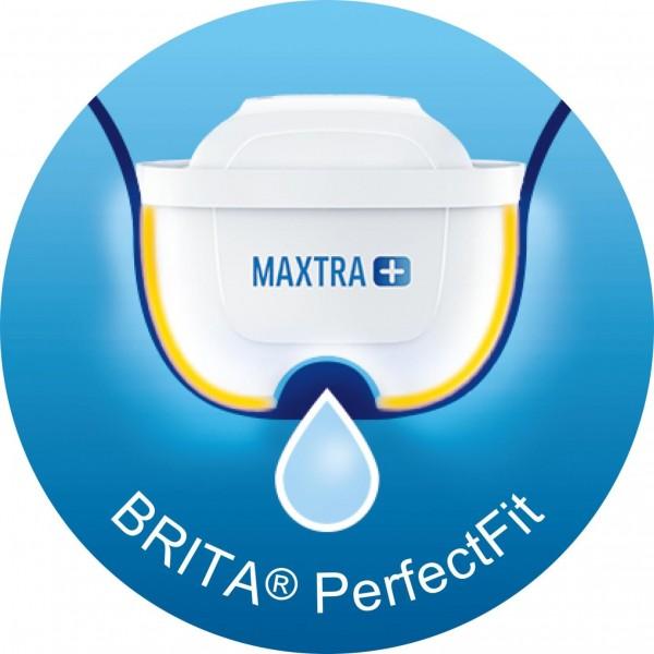 Brita Waterfilterkannen Waterfilterbundel Marella Cool white + 4 MAXTRA+ filterpatronen