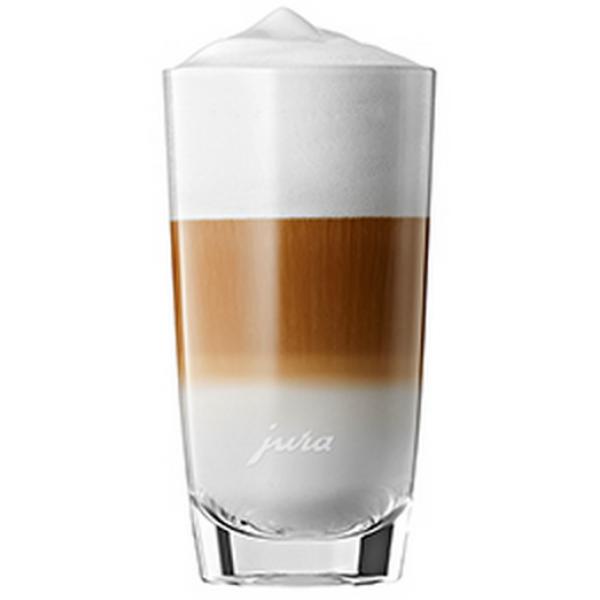Jura Espressoglazen Latte macchiato glas 2 stuks 15cm