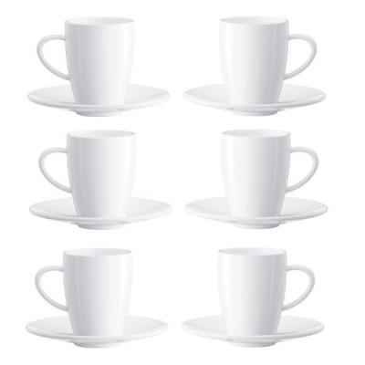 Koffiekopjes 6 stuks Jura