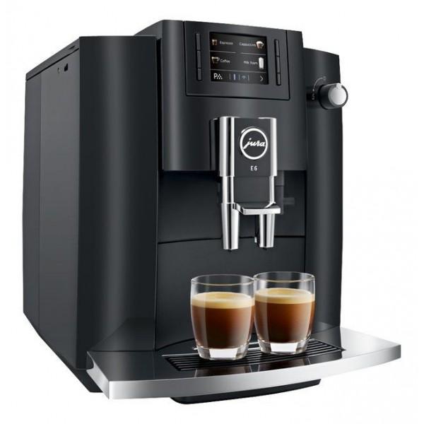 Jura Espressomachine E6 Piano Black 2020