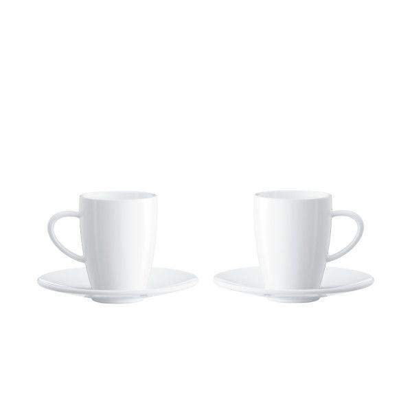 Espressokopjes 2 stuks Jura
