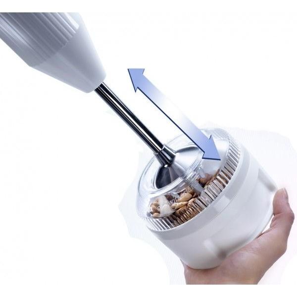 Bamix Mixer accessoires Processormolen Wit