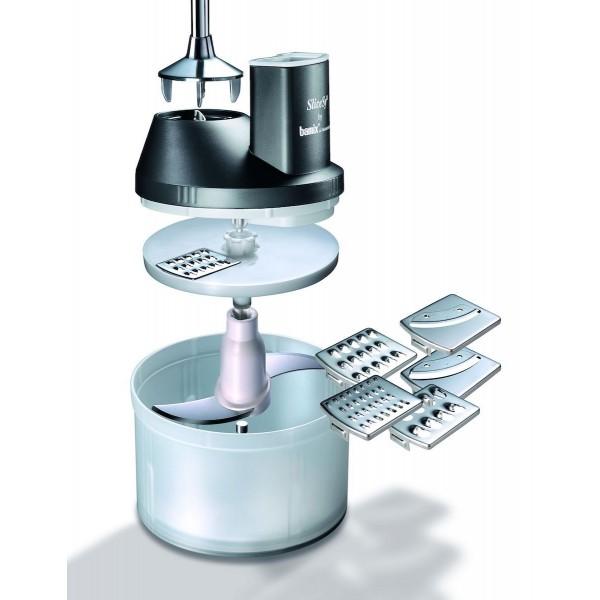 Bamix Mixer accessoires SliceSy Zwart
