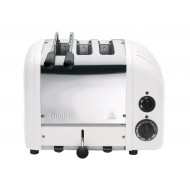 Toaster Classic Combi 2/1 canvas white