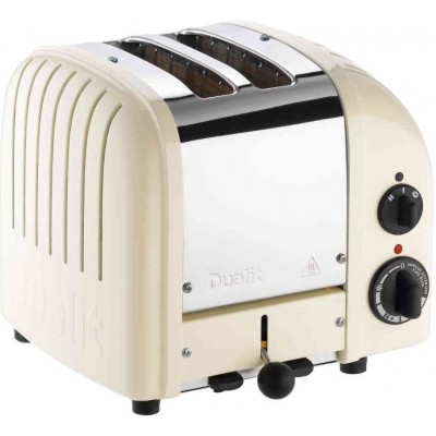 Toaster Classic 2 New Gen canvas white Dualit