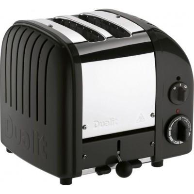 Toaster Classic 2 NewGen Zwart Dualit