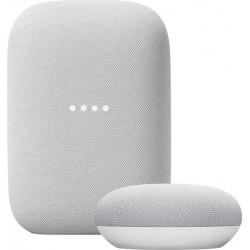 Google Nest Audio + Google Nest Mini Chalk Google
