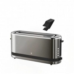 KitchenMinis Broodrooster lange sleuf Graphite