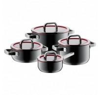 Fusiontec Functional 4-delige kookpottenset Platinum