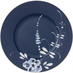 Ontbijtbord blauw