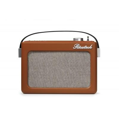 PR78 Emmeline draagbare radio bruin Ricatech