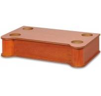 RJS110 houten jukebox stand 16cm bruin