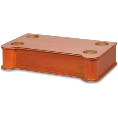 RJS110 houten jukebox stand 16cm bruin  Ricatech