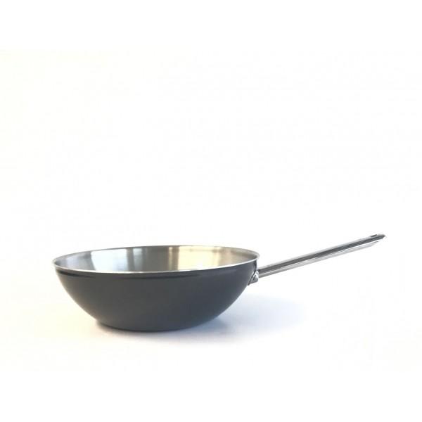 Black wok 30cm