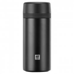 Thermo Isoleerfles voor thee 420ml Zwart