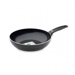 Cambridge Black/Black Wok 28cm  GreenPan