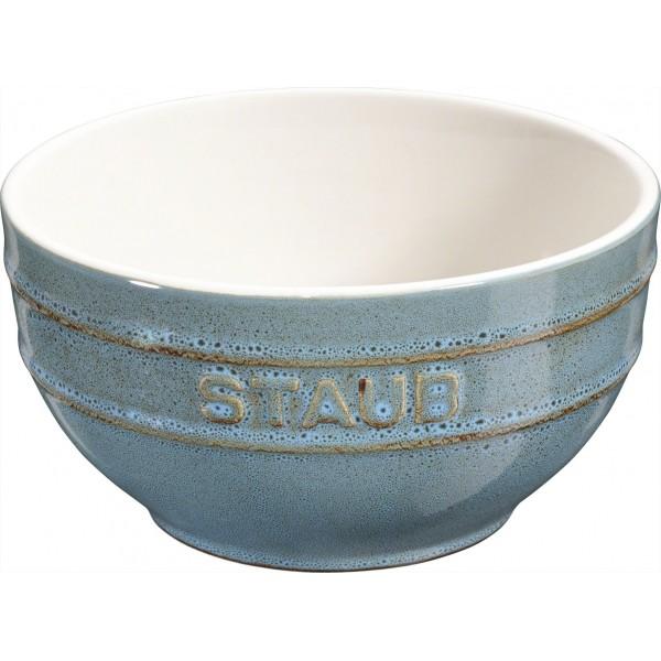 Staub Serveerkommen Kom 14cm Ancient turquoise