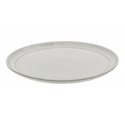 Ceramic by Staub Bord 26 cm white truffle