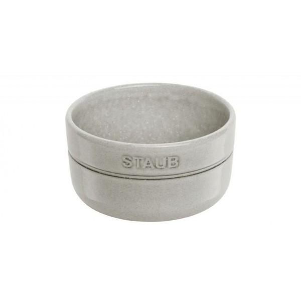 Staub Bowls Ceramic by Staub Kom 10 cm white truffle