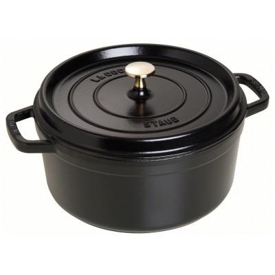 New Classic Cooking by Staub cocotte 26cm 1102625 Zwart Staub