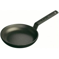 Mini braadpan 12cm Zwart