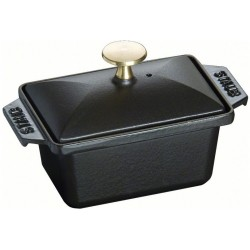 Terrine 15x11cm Zwart