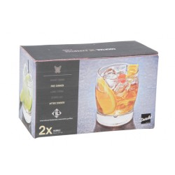 COCKTAIL EXPERTISE TUMBLER 35CL SET2