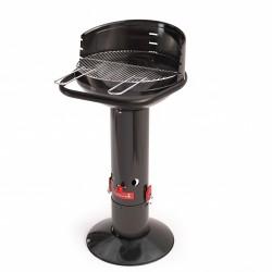 Loewy 45 houtskoolbarbecue uit email zwart Barbecook