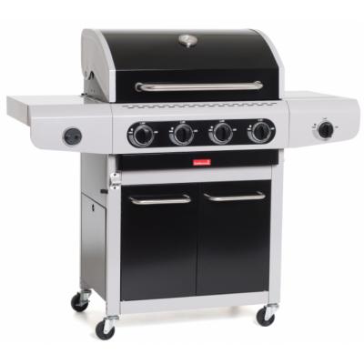 Siesta 412 Black Edition gasbarbecue  Barbecook