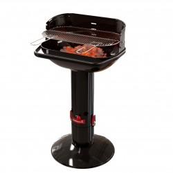 Loewy 55 houtskoolbarbecue uit email zwart Barbecook