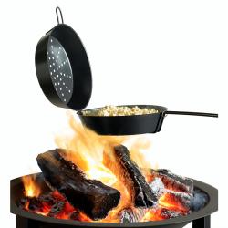 popcornpan zwart Ø 29cm  Barbecook