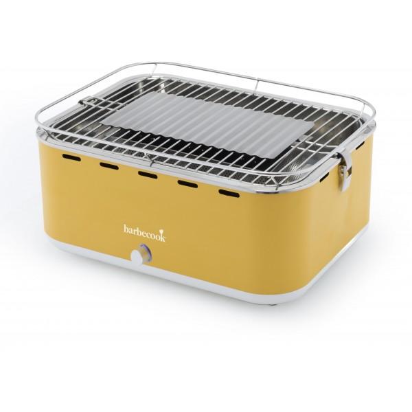 Barbecook Carlo houtskooltafelgrill Sunshine Yellow 44x33x21cm