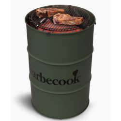 Edson houtskoolbarbecue Army Green Barbecook