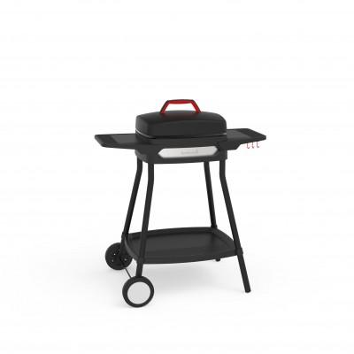 Alexia 5111 barbecue électrique à roulettes noir 84x55x97cm Barbecook