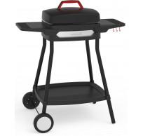 Alexia 5111 elektrische barbecue met wielen zwart 84x55x97cm