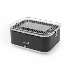 Carlo houtskooltafelgrill Urban Grey 43.5x33.5x23.5cm Barbecook