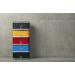 Carlo houtskooltafelgrill Urban Grey 43.5x33.5x23.5cm