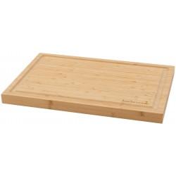 snijplank uit bamboe met sapgeul 46.5x28x2.8cm Barbecook