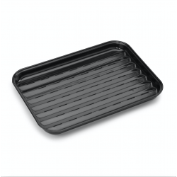 herbruikbare grillpan uit email 34.5x24cm  Barbecook