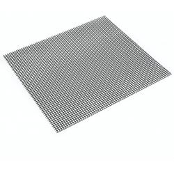 grillmat zwart 36x42cm (per 6st.)