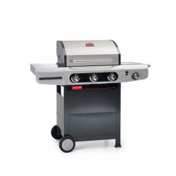 Siesta 310 Ceram gasbarbecue 124x56x118cm  Barbecook
