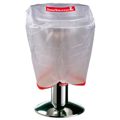 Houtskoolbarbecue standaard hoes doorzichtig Ø 65cm H 60cm  Barbecook