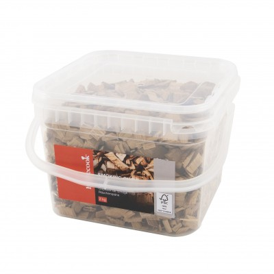emmer met rookchips eik klassiek 2kg FSC 100%   Barbecook